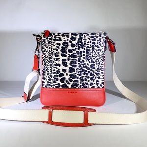 Coach | Swingpack Legacy Leopard Canvas Crossbody